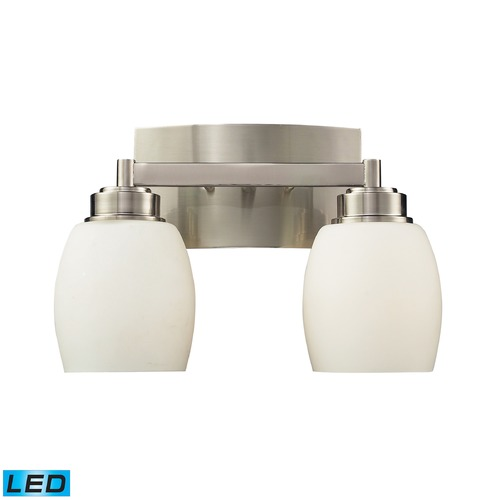 Elk Lighting Elk Lighting Northport Satin Nickel LED Bathroom Light 17101/2-LED