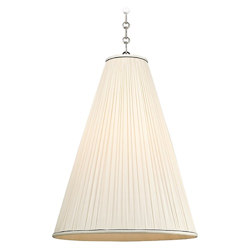 Hudson Valley Lighting Blake 1 Light Pendant Light - Polished Nickel 7818-PN-N