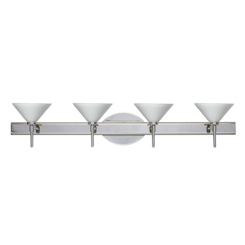 Besa Lighting Besa Lighting Kona Chrome Bathroom Light 4SW-117607-CR