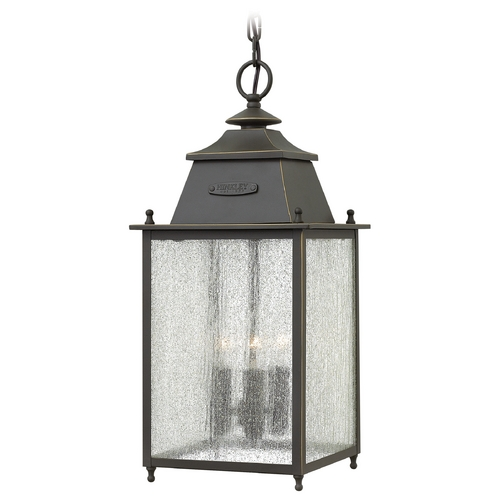 Hinkley Lighting Hinkley Lighting Chatfield Oil Rubbed Bronze Outdoor Hanging Light 2782OZ