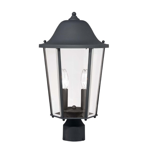 Savoy House Savoy House Black Post Light 5-6214-BK