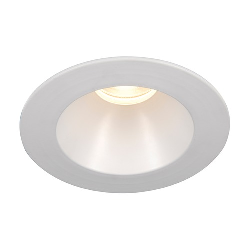 WAC Lighting WAC Lighting Round White 3.5-Inch LED Recessed Trim 2700K 1100LM 30 Degree HR3LEDT218PN827WT