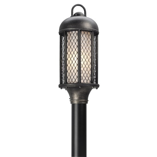 Troy Lighting Troy Lighting Signal Hill Aged Silver Post Light PF4485