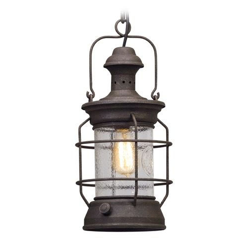 Troy Lighting Troy Lighting Atkins Centennial Rust Outdoor Hanging Light F5057