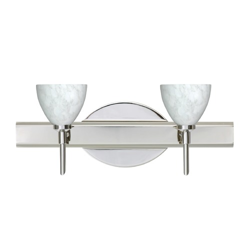 Besa Lighting Besa Lighting Divi Chrome LED Bathroom Light 2SW-185819-LED-CR