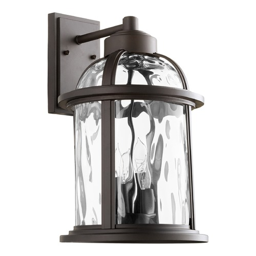 Quorum Lighting Quorum Lighting Winston Oiled Bronze Outdoor Wall Light 7760-4-86