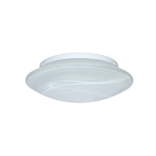 Besa Lighting Flushmount Light with Marble Glass 943152C