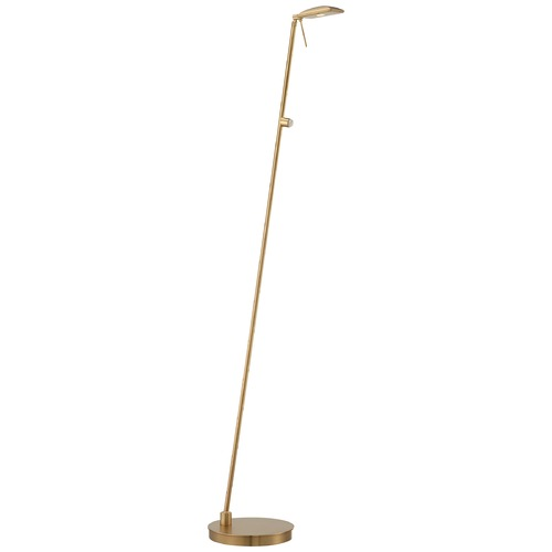 George Kovacs Lighting Modern LED Pharmacy Lamp in Honey Gold Finish P4324-248