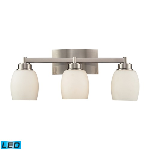 Elk Lighting Elk Lighting Northport Satin Nickel LED Bathroom Light 17102/3-LED