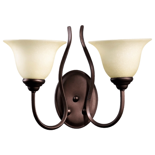 Quorum Lighting Quorum Lighting Spencer Oiled Bronze Bathroom Light 5510-2-86