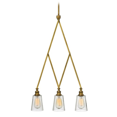 Hinkley Lighting Hinkley Lighting Gatsby Heritage Brass Chandelier 4933HB