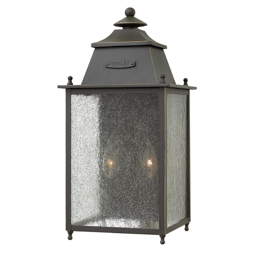 Hinkley Lighting Hinkley Lighting Chatfield Oil Rubbed Bronze Outdoor Wall Light 2784OZ