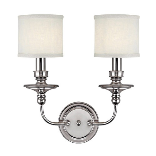 Capital Lighting Capital Lighting Midtown Polished Nickel Sconce 1232PN-451