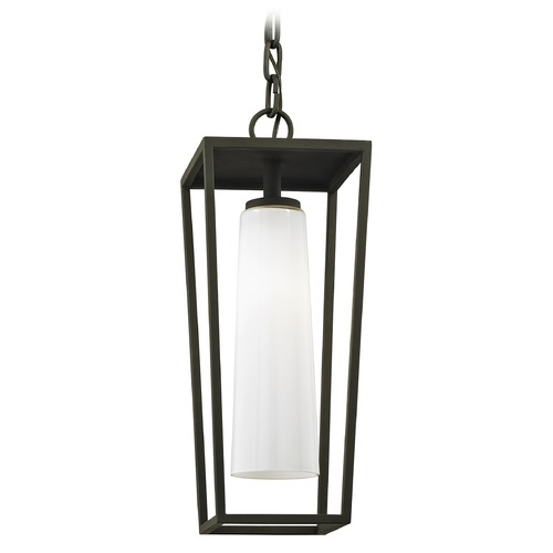 Troy Lighting Troy Lighting Mission Beach Textured Black Outdoor Hanging Light F6357