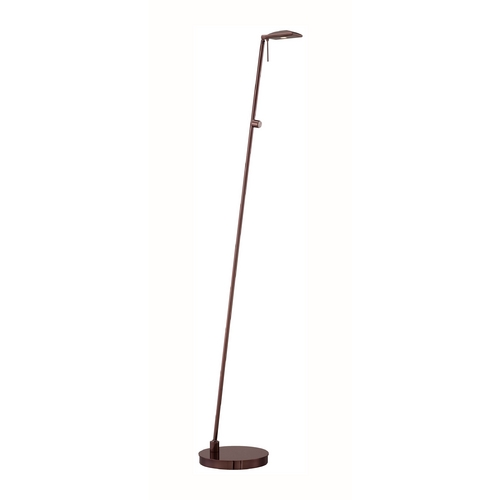 George Kovacs Lighting Modern LED Pharmacy Lamp in Chocolate Chrome Finish P4324-631