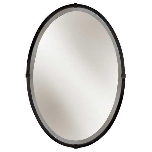 Hubbardton Forge Lighting Oval 22-Inch Mirror 710004-05