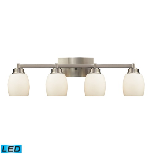 Elk Lighting Elk Lighting Northport Satin Nickel LED Bathroom Light 17103/4-LED