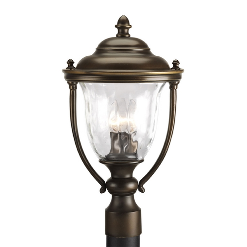 Progress Lighting Progress Post Light with Clear Glass in Oil Rubbed Bronze Finish P5484-108