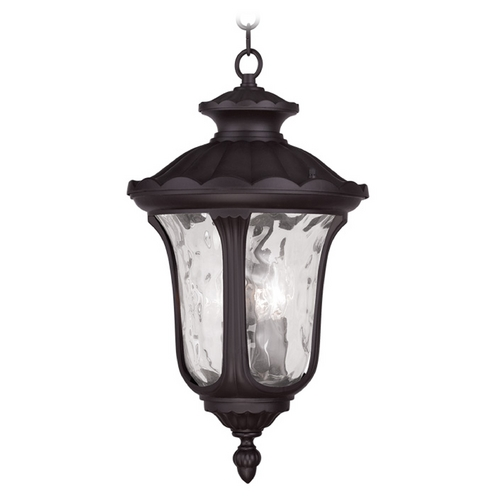 Livex Lighting Livex Lighting Oxford Bronze Outdoor Hanging Light 7858-07