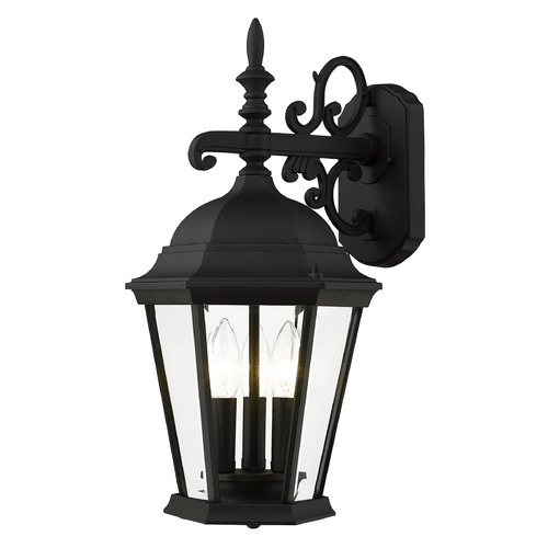Livex Lighting Livex Lighting Hamilton Black Outdoor Wall Light 7560-04