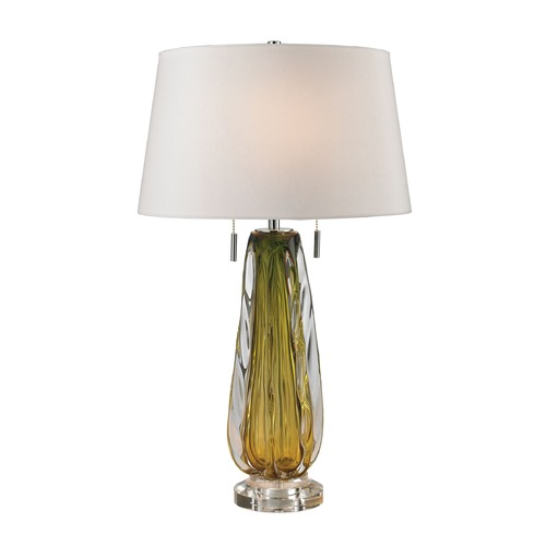 Dimond Lighting Dimond Lighting Green Table Lamp with Empire Shade D2670W