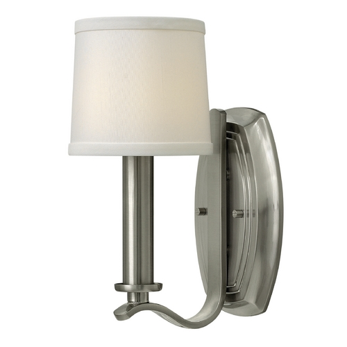 Hinkley Lighting Hinkley Lighting Clara Brushed Nickel Sconce 4180BN