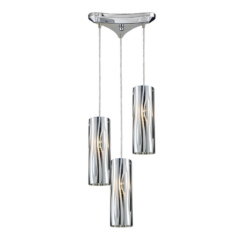 Elk Lighting Modern Multi-Light Pendant Light 3-Lights 31078/3
