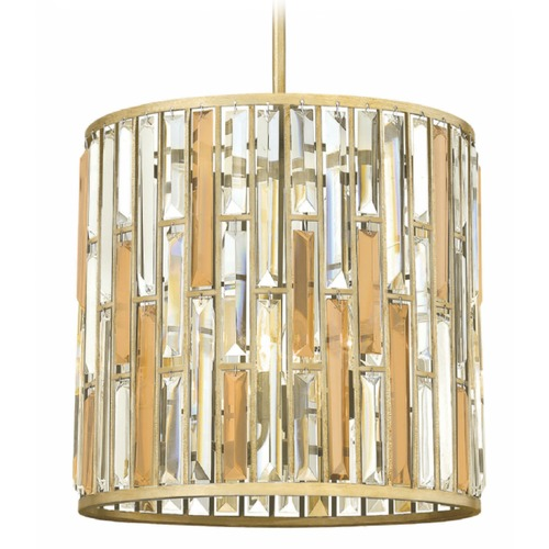 Hinkley Lighting Contemporary Crystal Pendant Light - 16-Inches Wide FR33734SLF