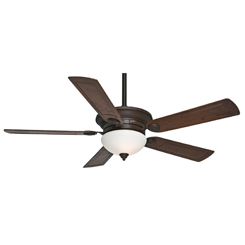 Casablanca Fan Co Casablanca Fan Whitman Brushed Cocoa Ceiling Fan with Light 59060