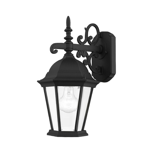 Livex Lighting Livex Lighting Hamilton Black Outdoor Wall Light 7555-04