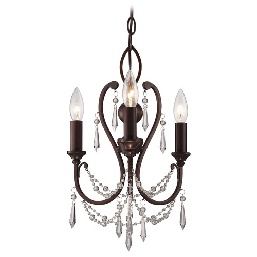 Minka Lavery Minka Mini Chandeliers Vintage Bronze Mini-Chandelier 3138-284