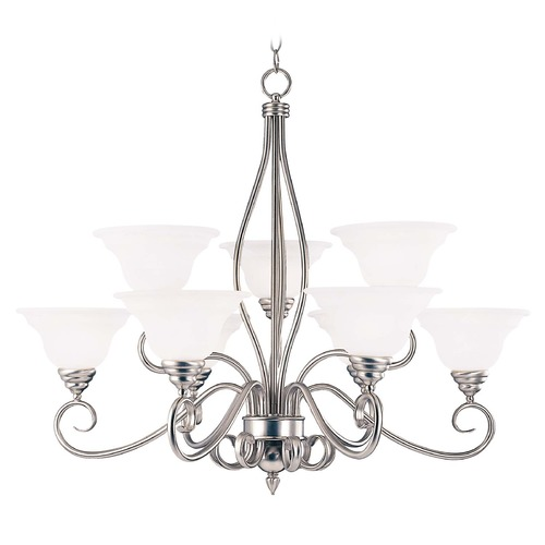 Savoy House Savoy House Pewter Chandelier KP-SS-99-9-69
