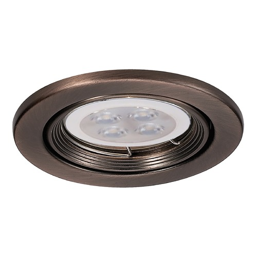 WAC Lighting Wac Lighting 2.5 Low Volt Copper Bronze LED Recessed Trim HR-836LED-CB