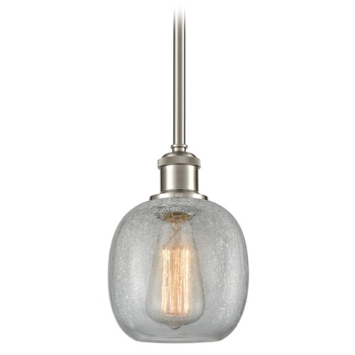 Innovations Lighting Innovations Lighting Belfast Brushed Satin Nickel Mini-Pendant Light with Globe Shade 516-1S-SN-G105
