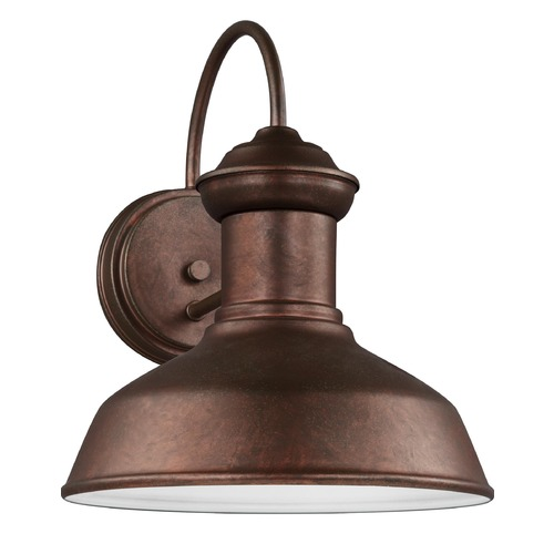 Sea Gull Lighting Sea Gull Lighting Fredricksburg Weathered Copper LED Outdoor Wall Light 8547701-44/T