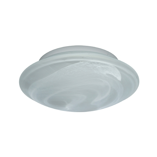 Besa Lighting Flushmount Light with Marble Glass 943252C