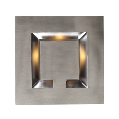 PLC Lighting Modern Sconce Wall Light in Satin Nickel Finish 2330 SN