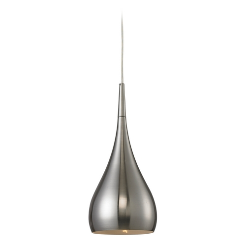 Elk Lighting Modern LED Mini-Pendant Light 31341/1SN-LED