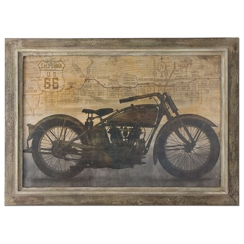 Uttermost Lighting Uttermost Ride Framed Art 51086