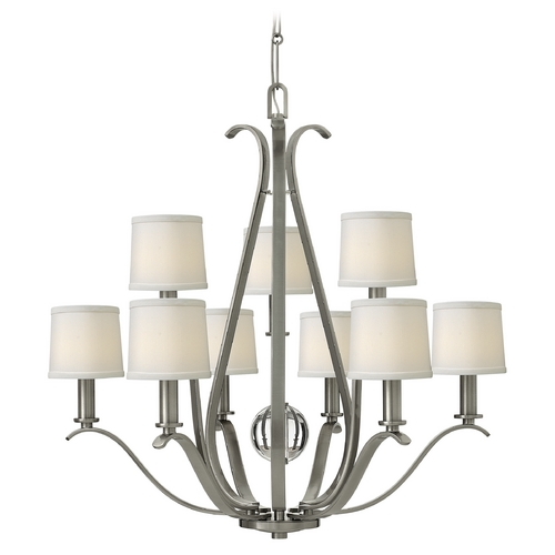 Hinkley Lighting Hinkley Lighting Clara Brushed Nickel Chandelier 4188BN