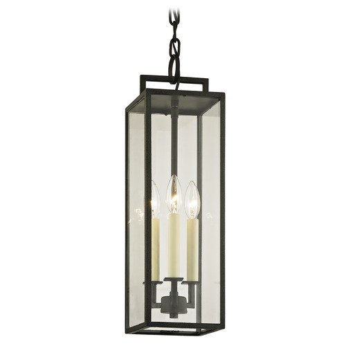 Troy Lighting Troy Lighting Beckham Forged Iron Outdoor Hanging Light F6387