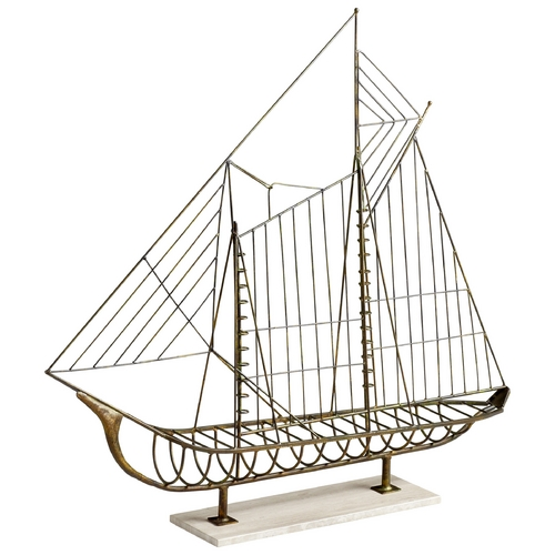 Cyan Design Cyan Design Sail Away Rustic Sculpture 06244