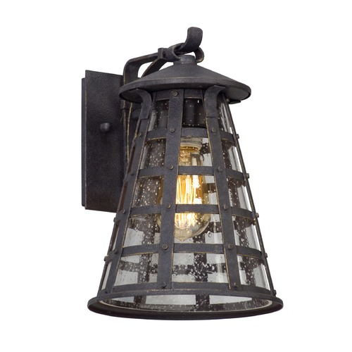 Troy Lighting Troy Lighting Benjamin Vintage Iron LED Outdoor Wall Light BL5161