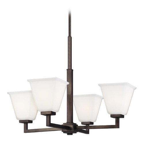 Sea Gull Lighting Sea Gull Lighting Ellis Harper Brushed Oil Rubbed Bronze LED Chandelier 3113704EN3-778