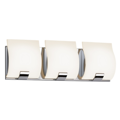 Sonneman Lighting Sonneman Lighting Aquo Polished Chrome LED Bathroom Light 3883.01LED