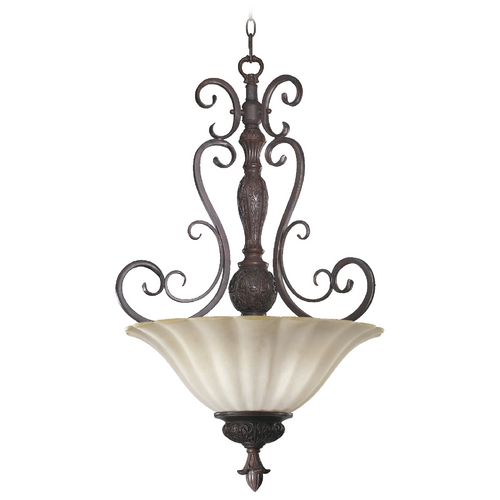 Quorum Lighting Quorum Lighting Coronado Gilded Bronze Pendant Light 8195-4-38