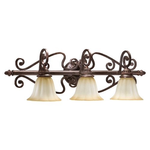 Quorum Lighting Quorum Lighting Summerset Toasted Sienna Bathroom Light 5126-3-44
