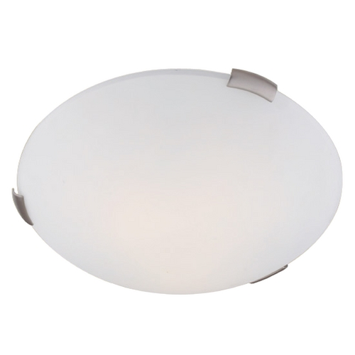 Livex Lighting Livex Lighting Ariel Brushed Nickel Flushmount Light 7324-91