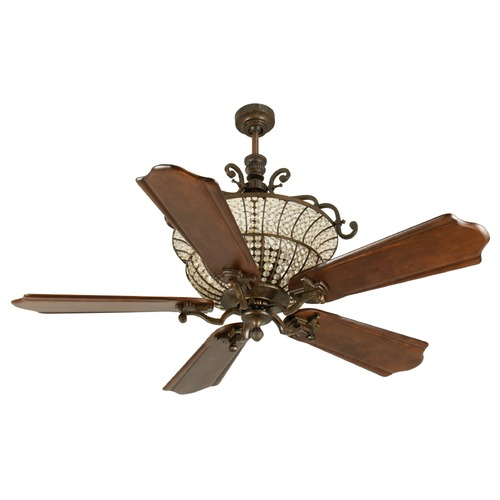 Craftmade Lighting Craftmade Lighting Cortana Peruvian Bronze Ceiling Fan with Light K10881