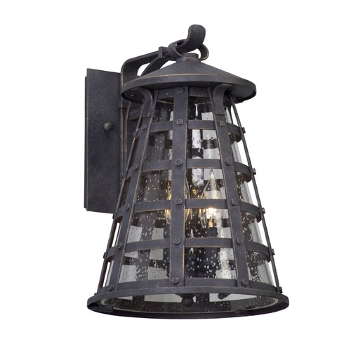 Troy Lighting Troy Lighting Benjamin Vintage Iron LED Outdoor Wall Light BL5162